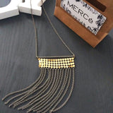 Geometric Short Chain Maille Necklace - MERCe