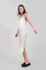 LOGAN SQUARE NECK TUBE DRESS