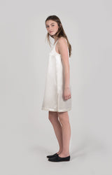 LUNA SQUARED HIGH NECK DRESS