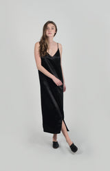FERN V-NECKLINE MAXI SLIP DRESS