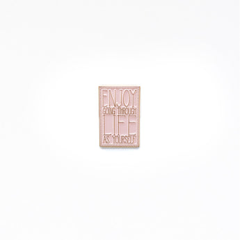 'GIRLS' Enamel Pin