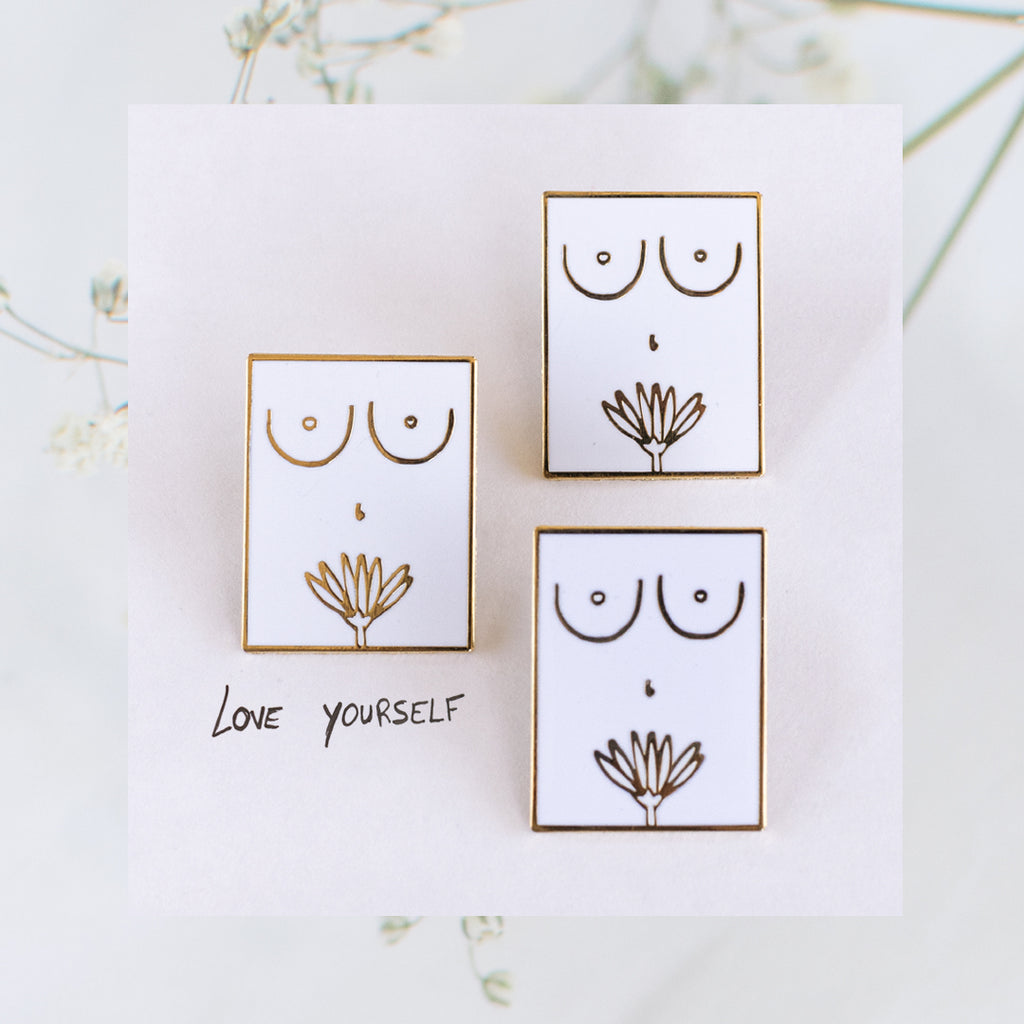 Self-Love Enamel Pin