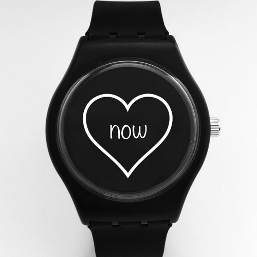 love now watch - black