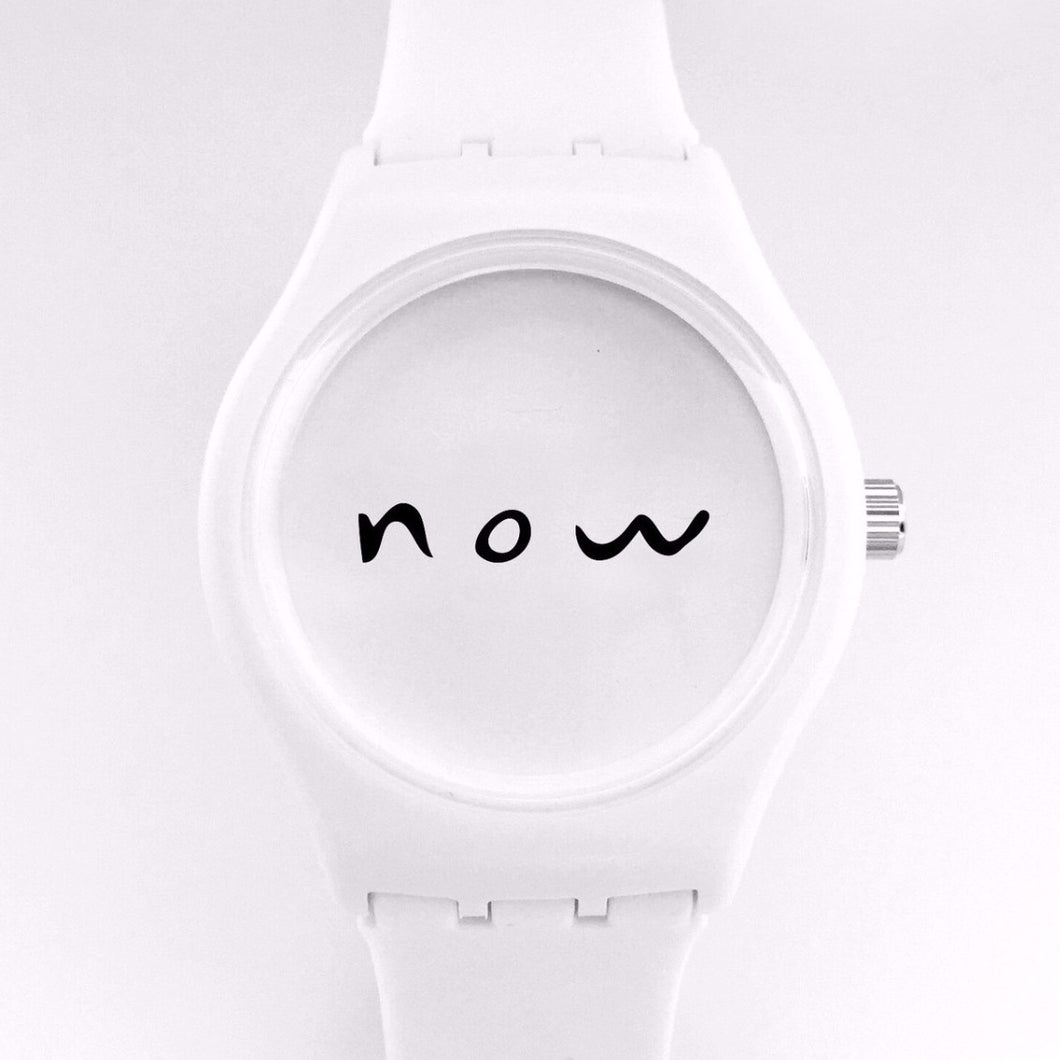 now watch white steal time back now watches mindfulness tools