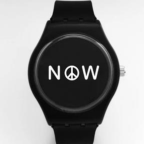 peace now - black