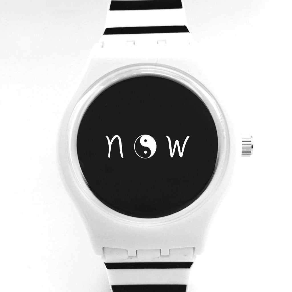yin/yang now watch - stripes
