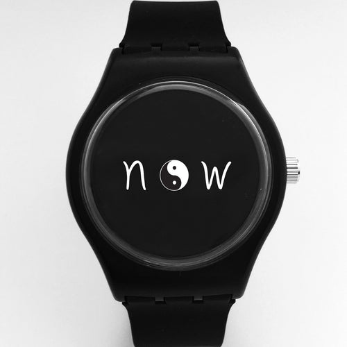 yin/yang now watch -black