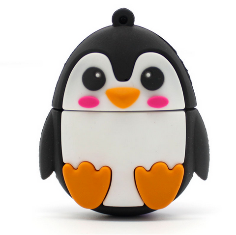 Pendrive usb flash drive Penguin pen drive memory flash USB Flash 4gb 8gb 16gb 32gb Flash Drive 64gb key usb