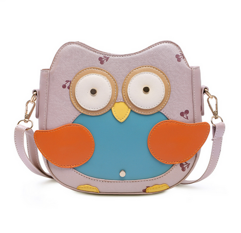 Cute Penguin Bag Small Fashion Cartoon Shoulder Bag Candy Color Girls Messenger Bag Lovely Cherry Bag
