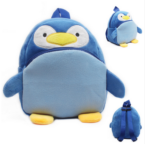 Lovely Penguin baby backpack plush shool bags kids mochila lovely design mini bags toy for child birthday Christmas gift
