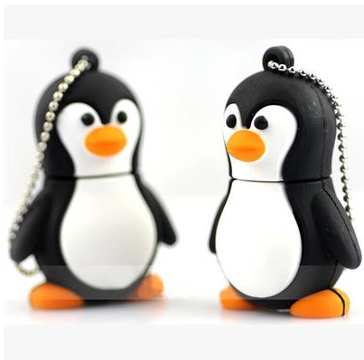 Hot sale USB flash drive penguin baby USB 2.0 flash memory stick pen drive U Disk Festival Gift/ 4GB 8GB 16GB 32GB 64GB