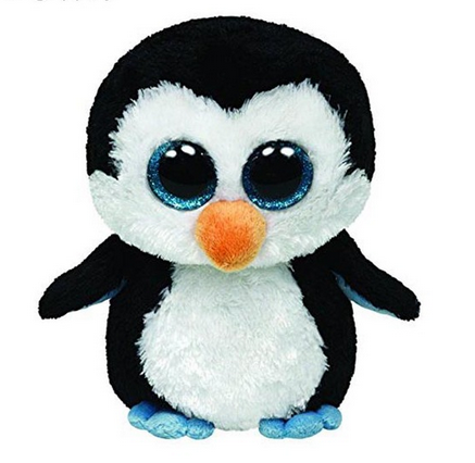 Beanie Boos Original Big Eyes Plush Toy Doll Child Birthday Penguin Baby 15cm
