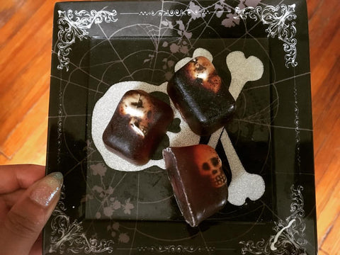 Skull Head Pumpkin Spice Soap - Batch of 3