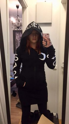 Moon Witch Hoodie - Gothic Punk Print