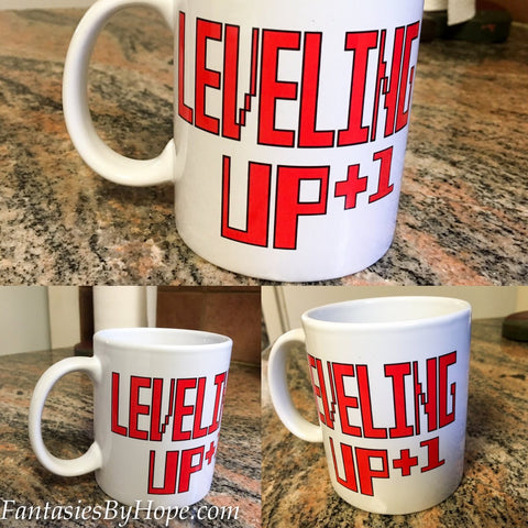 Leveling Up - Gamer Coffee Mug - HottestTrendsPrint