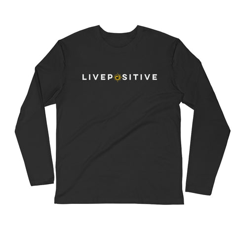 LivePositive Long Sleeve Fitted Crew - HottestTrendsPrint