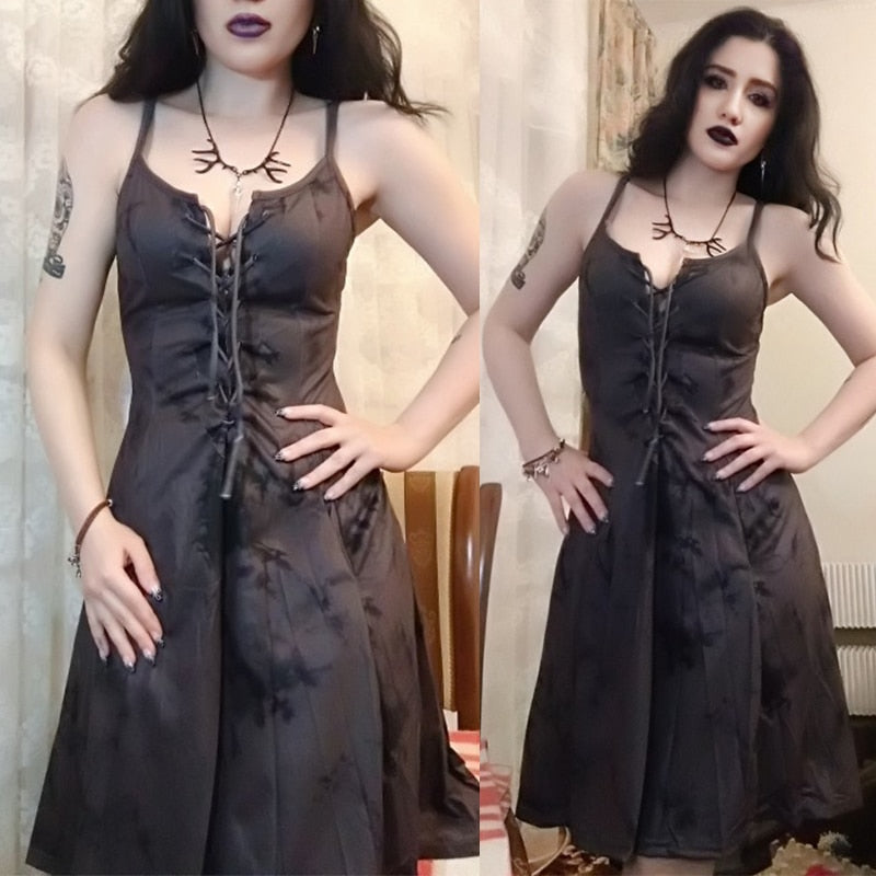 Medieval Vintage Gothic Apocalyptic Dress - Once Upon A Time