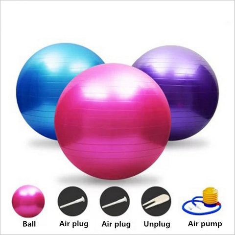 55/65/75cm Yoga Balance Fitness Ball