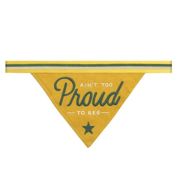 AIN'T TOO PROUD - DOG BANDANA - Royal Birkdale Boutique