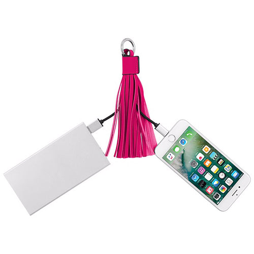 "CHIC BUDS ""TASSEL CABLE"" - APPLE® CERTIFIED W/ LIGHTNING™ CONNECTOR - Royal Birkdale Boutique"