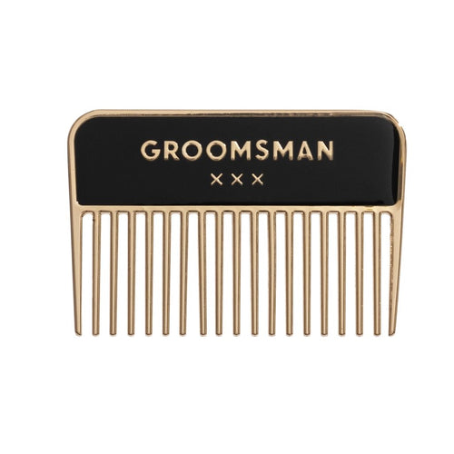 GROOMSMAN - BEARD COMB - Royal Birkdale Boutique