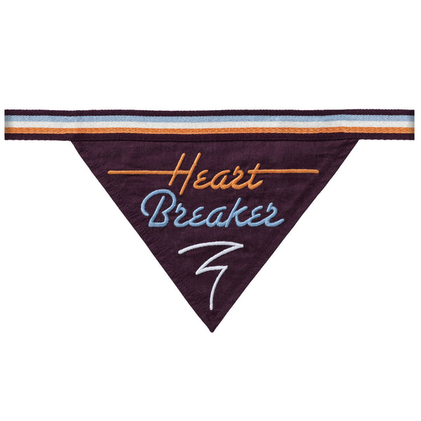 HEART BREAKER - DOG BANDANA - Royal Birkdale Boutique