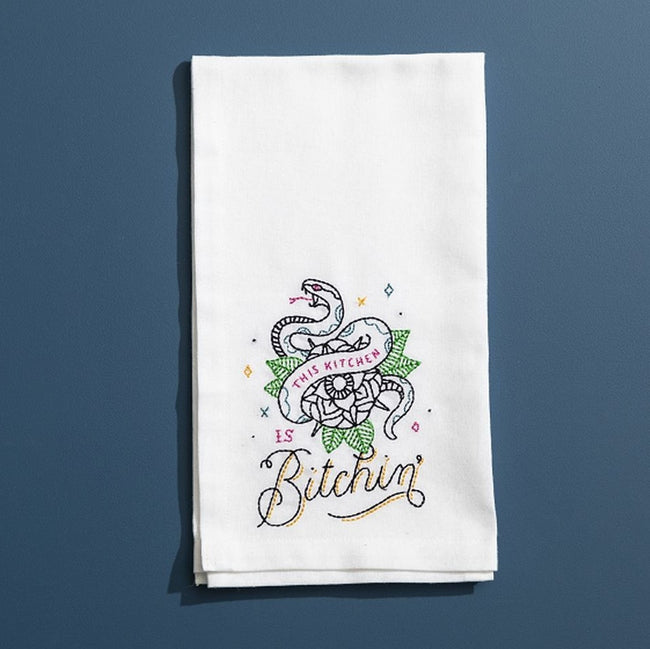 THIS KITCHEN IS BITCHIN' - DISH TOWEL - Royal Birkdale Boutique