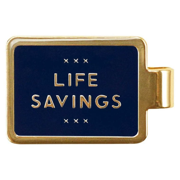 LIFE SAVINGS - MONEY CLIP - Royal Birkdale Boutique