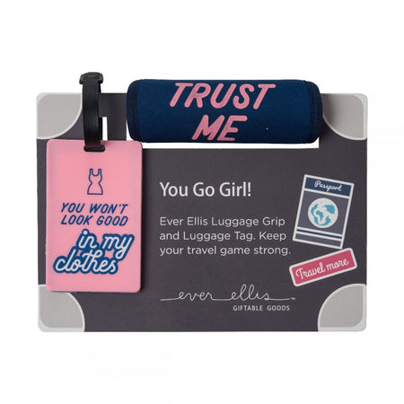 OVERPACKED - LUGGAGE TAG SET