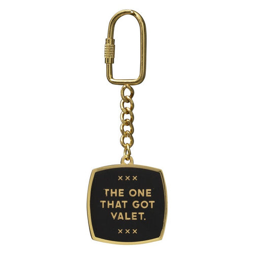 THE ONE THAT GOT VALET - KEY CHAIN