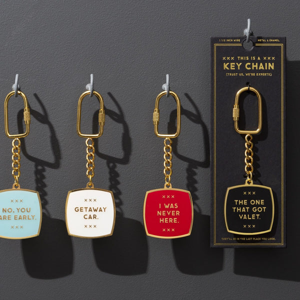 THE ONE THAT GOT VALET - KEY CHAIN - Royal Birkdale Boutique