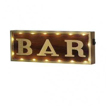 """BAR"" LIGHT-UP SIGN - Royal Birkdale Boutique"