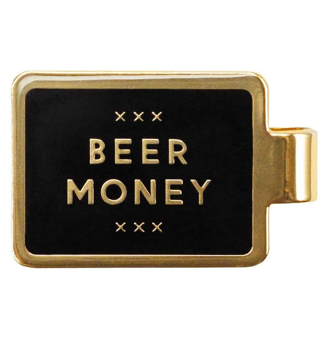 BEER MONEY - MONEY CLIP - Royal Birkdale Boutique