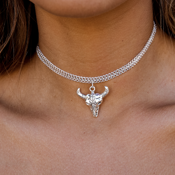 THE BULL HEAD CHOKER - Royal Birkdale Boutique