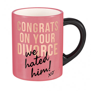 """DIVORCE"" MUG - Royal Birkdale Boutique"