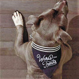 WORKS FOR TREATS - DOG BANDANA - Royal Birkdale Boutique