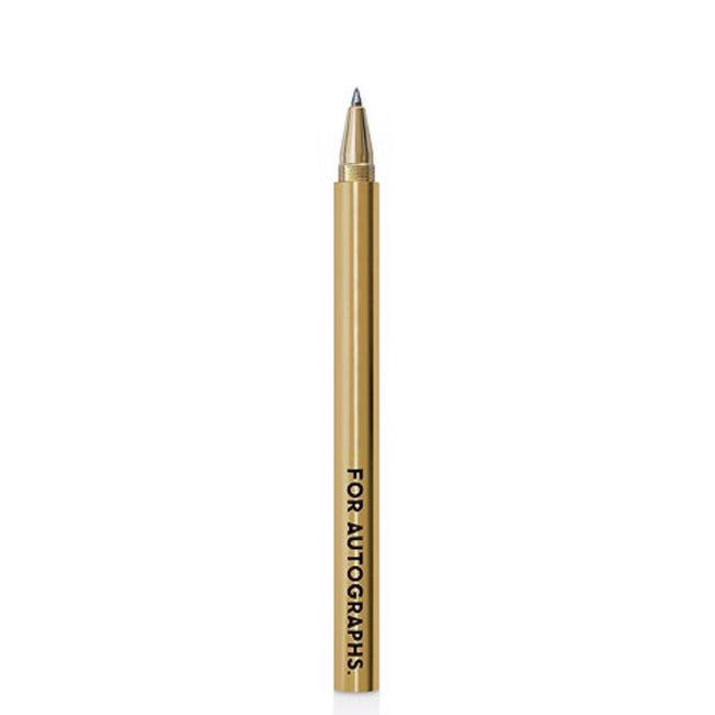 FOR AUTOGRAPHS - BRASS PEN - Royal Birkdale Boutique
