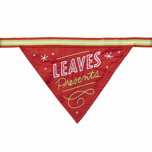 LEAVES PRESENTS - DOG BANDANA - Royal Birkdale Boutique