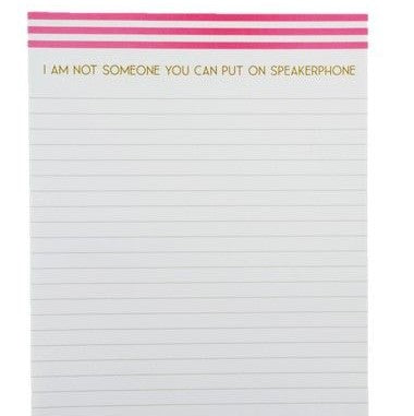 SPEAKERPHONE - NOTEPAD - Royal Birkdale Boutique