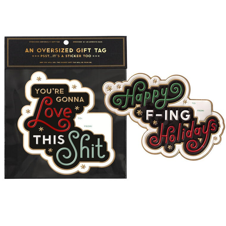 LOVE THIS HOLIDAYS GIFT TAG SET - Royal Birkdale Boutique