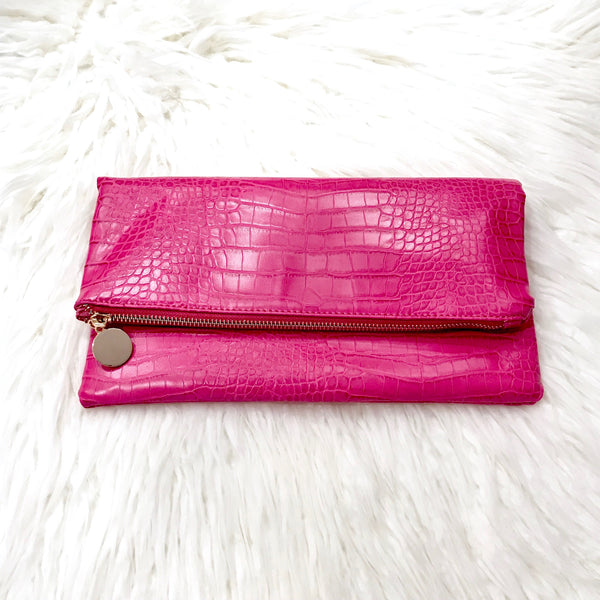 REPTILE SKIN CLUTCH - Royal Birkdale Boutique