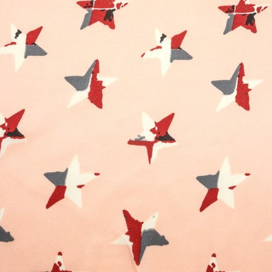 CAMO STAR SCARF - PINK - Royal Birkdale Boutique