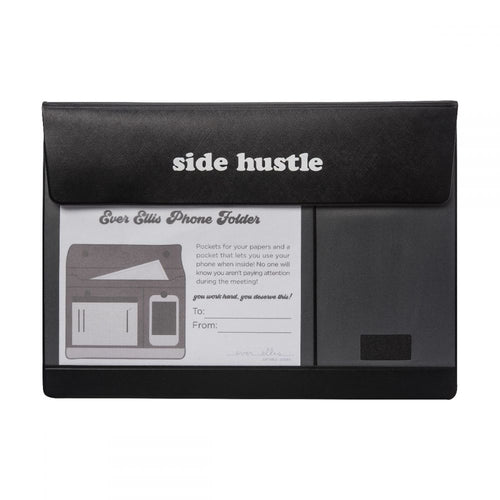 SIDE HUSTLE - PAPER BRIEFCASE - Royal Birkdale Boutique