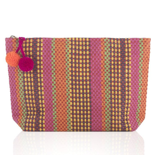 TAY ZIP POUCH - MULTI - Royal Birkdale Boutique
