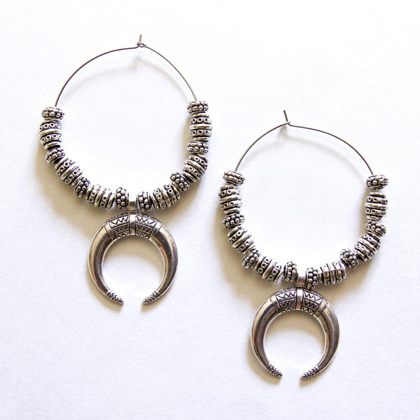 THE TRIBAL HORN HOOPS - Royal Birkdale Boutique