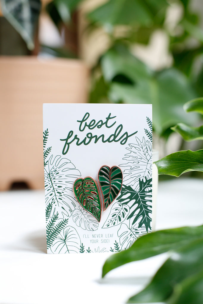 Best Fronds Enamel Pin Set