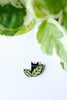 Cat in Plant Pin