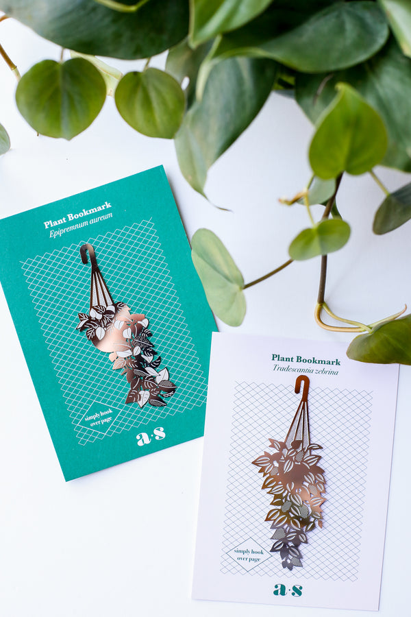 Hanging Plant Bookmark