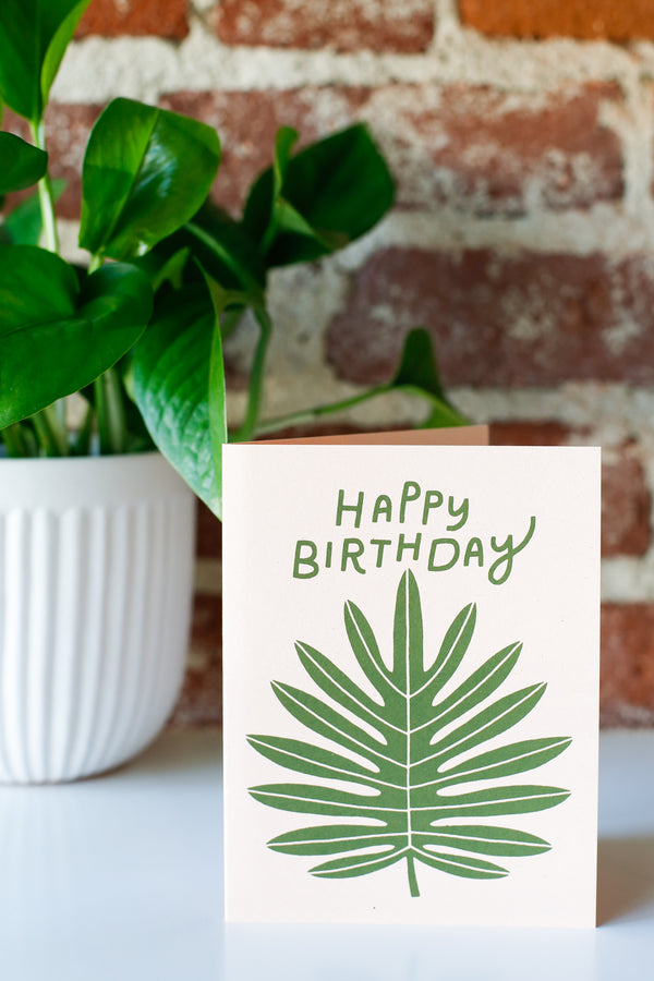 Happy Birthday Philodendron