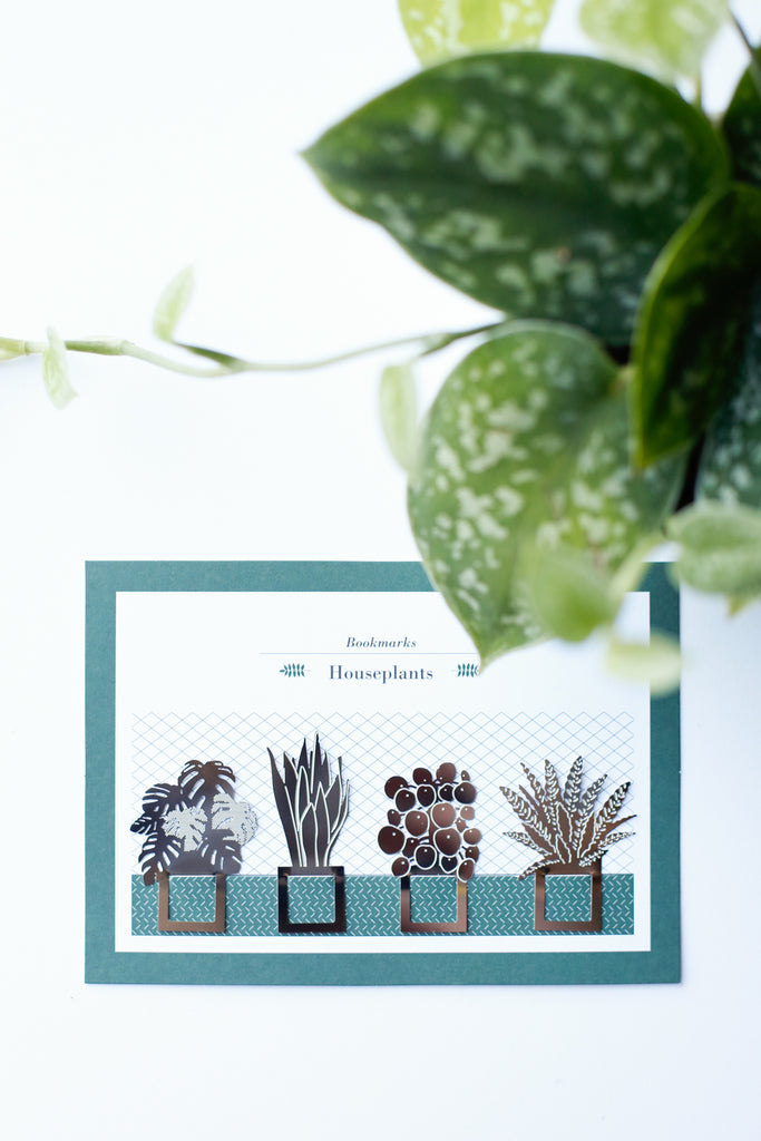 Houseplants Bookmark